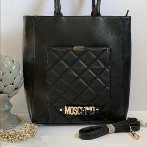 🔥🔥Moschino black large bag 🔥🔥